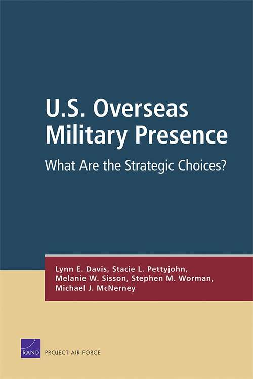 U.S. Overseas Military Presence: What Are the Strategic Choices?