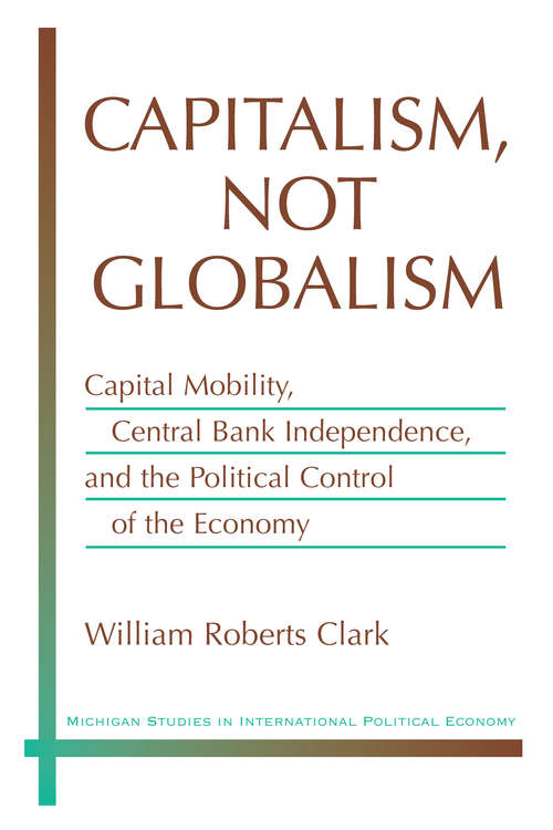 Capitalism, Not Globalism