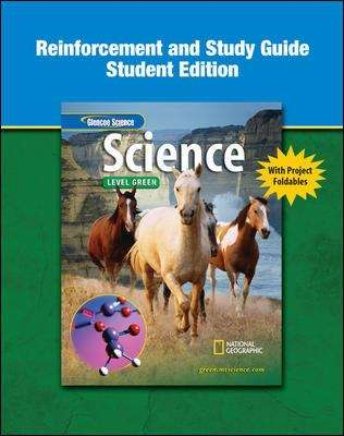 Glencoe Science Level Green (Study Guide and Reinforcement, Student Edition)