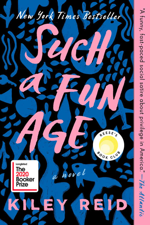 Collection sample book cover Such a Fun Age by Kiley Reid