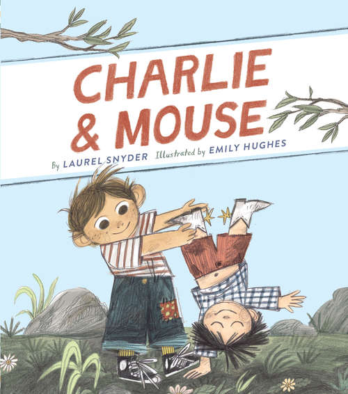 Collection sample book cover Charlie & Mouse, two boys playing