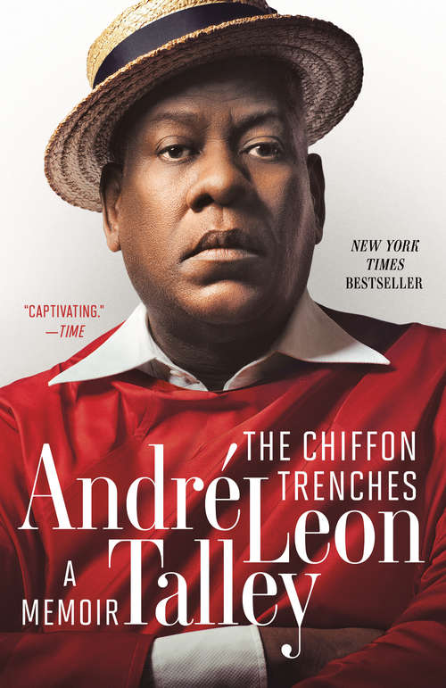 Collection sample book cover The Chiffon Trenches: A Memoir by André Leon Talley