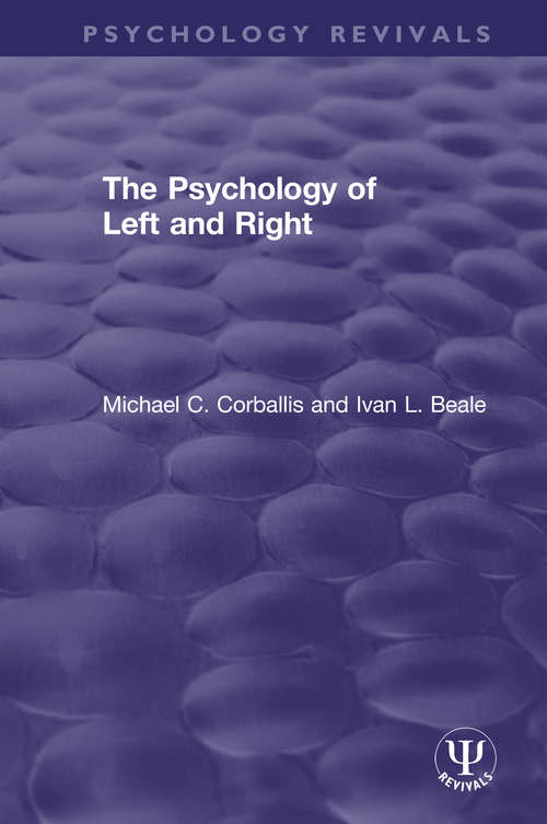 The Psychology of Left and Right (Psychology Revivals)