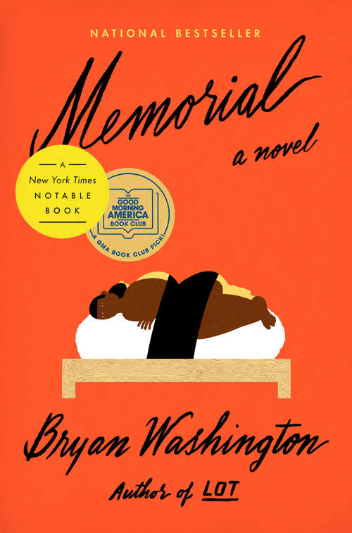 Collection sample book cover Memorial by Bryan Washington