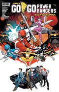 Saban's Go Go Power Rangers: Back to School #1 (Saban's Go Go Power Rangers)