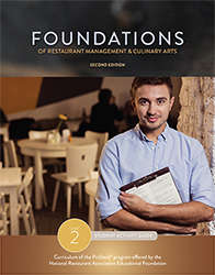 foundations of restaurant management and culinary arts student