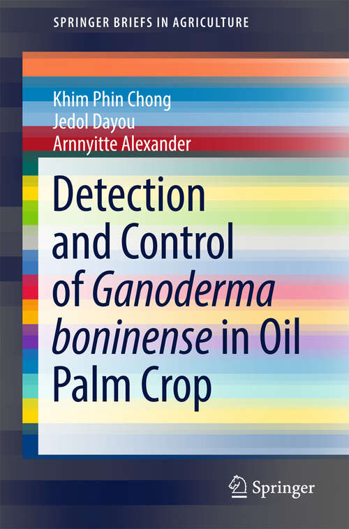 Detection and Control of Ganoderma boninense in Oil Palm Crop