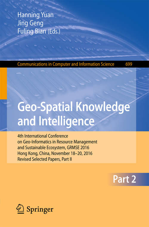 Geo-Spatial Knowledge and Intelligence
