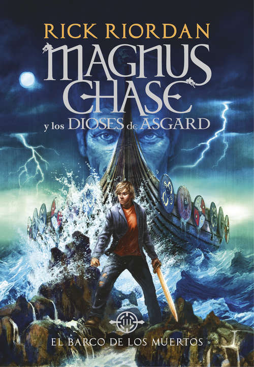 Collection sample book cover El barco de los muertos (Magnus Chase y los dioses de Asgard: 3) de Rick Riordan