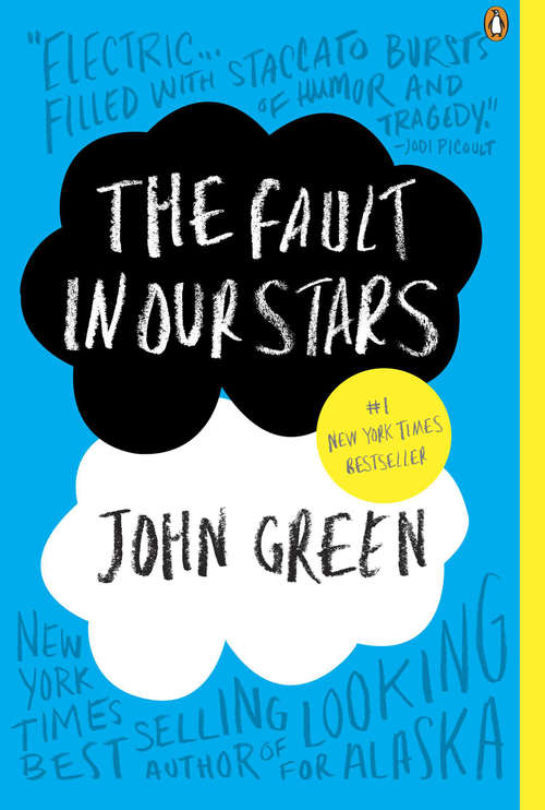 Collection sample book cover The Fault in Our Stars by John Green