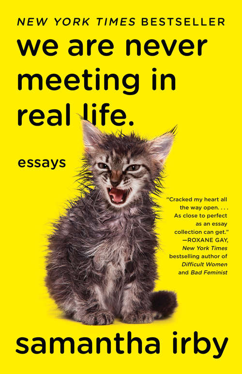 We Are Never Meeting in Real Life.: Essays by Samantha Irby