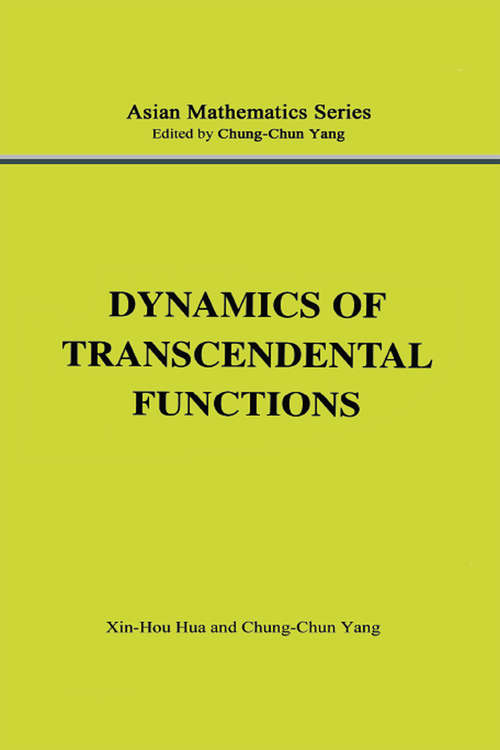Dynamics of Transcendental Functions