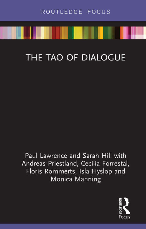 The Tao of Dialogue (Routledge Focus on Mental Health)