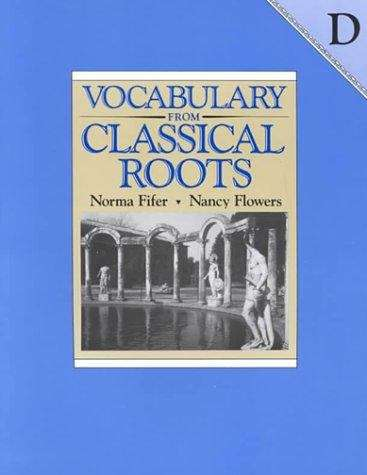 Vocabulary From Classical Roots: D