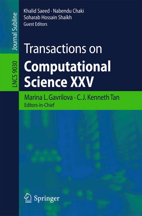 Transactions on Computational Science XXV