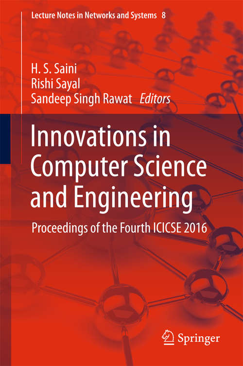 Innovations in Computer Science and Engineering