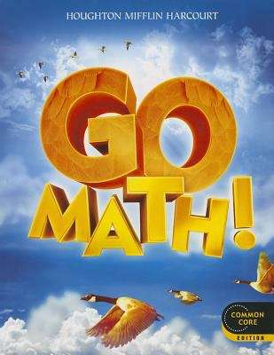 Cover of Go Math! Grade 4 Common Core Edition