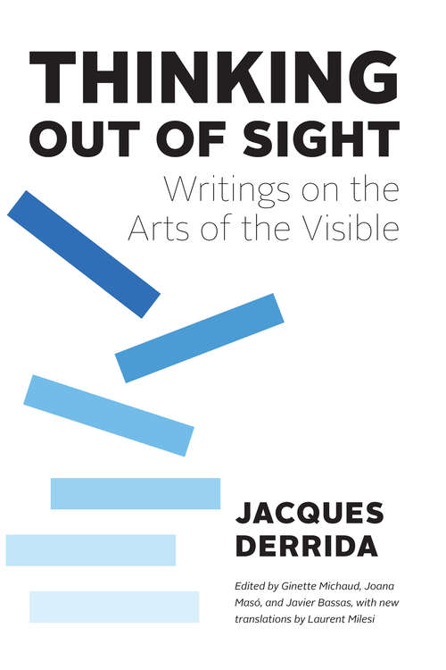 Thinking Out of Sight: Writings on the Arts of the Visible (The France Chicago Collection)