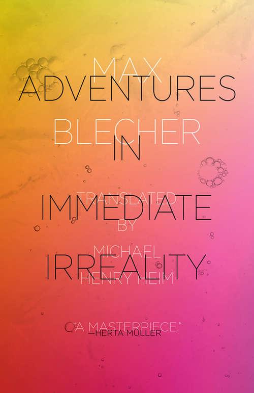 Adventures In Immediate Irreality