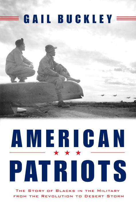 Collection sample book cover American Patriots, 2 men staring at warplanes