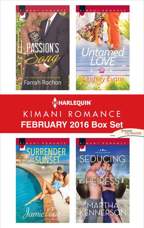 Harlequin Kimani Romance February 2016 Box Set