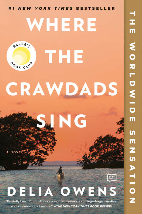 Collection sample book cover Where the Crawdads Sing by Delia Owens