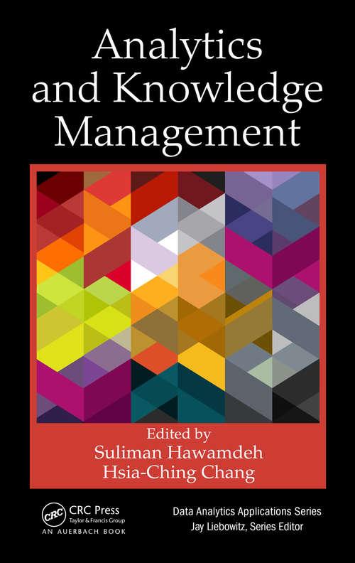 Analytics and Knowledge Management (Data Analytics Applications)
