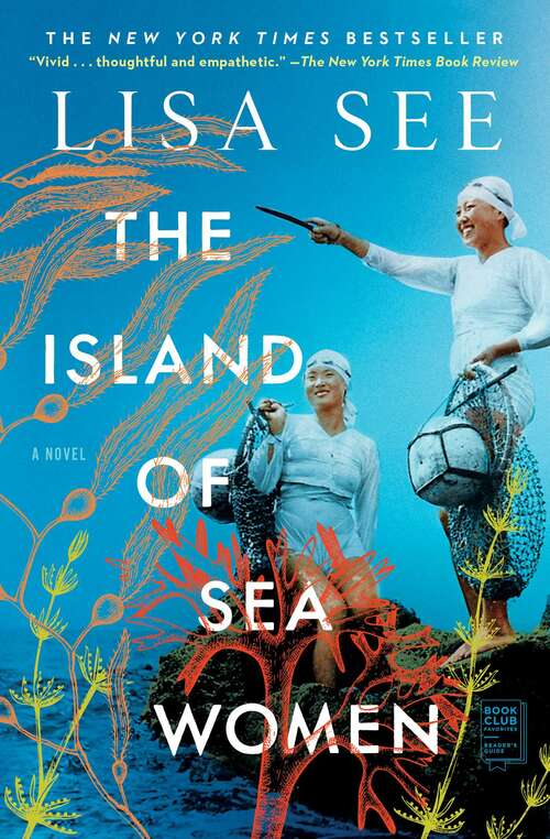 Collection sample book cover The Island of Sea Woman by Lisa See