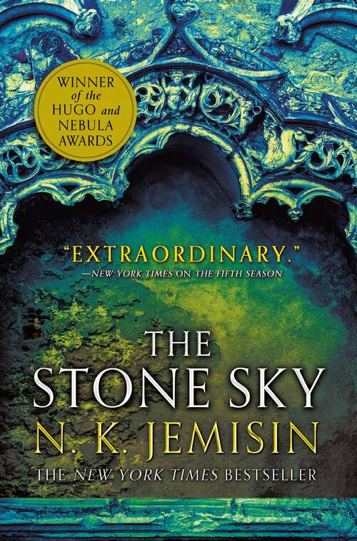 Collection sample book cover  The Stone Sky by N.K. Jemisin