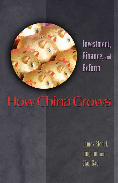 How China Grows: Investment, Finance, and Reform