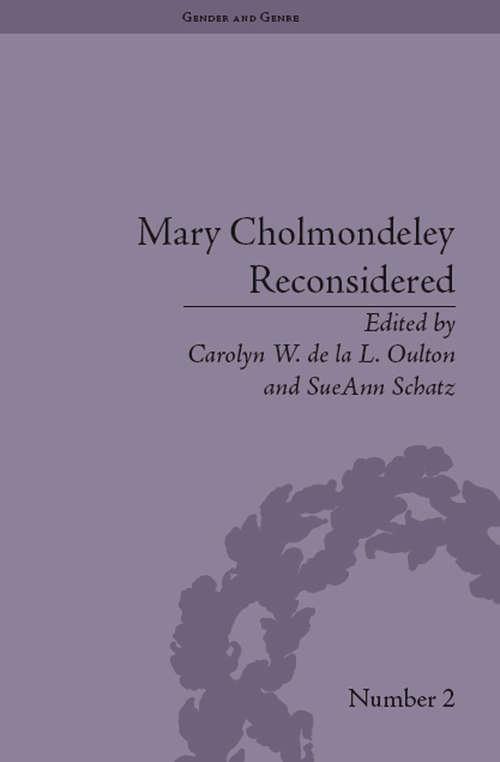 Mary Cholmondeley Reconsidered (Gender and Genre #2)
