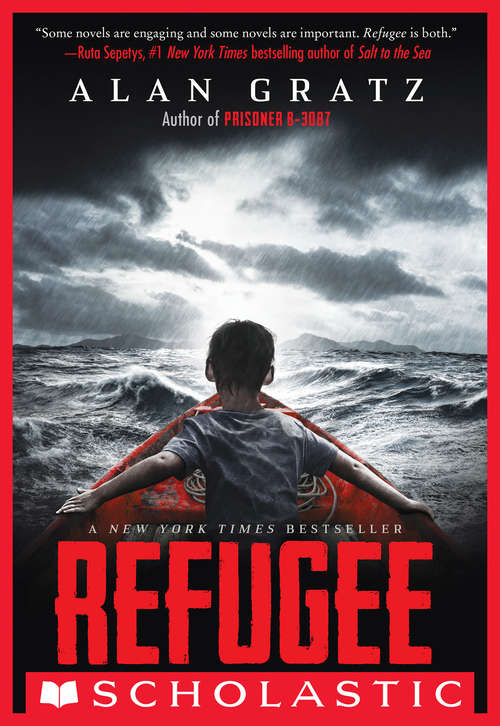 Collection sample book cover Refugee by Alan Gratz