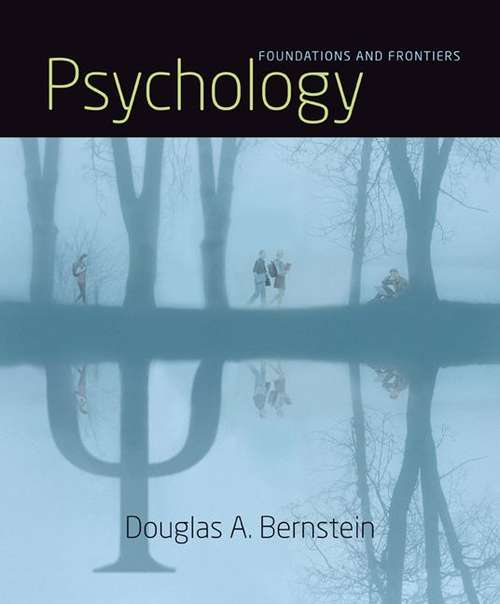 Psychology: Foundations and Frontiers