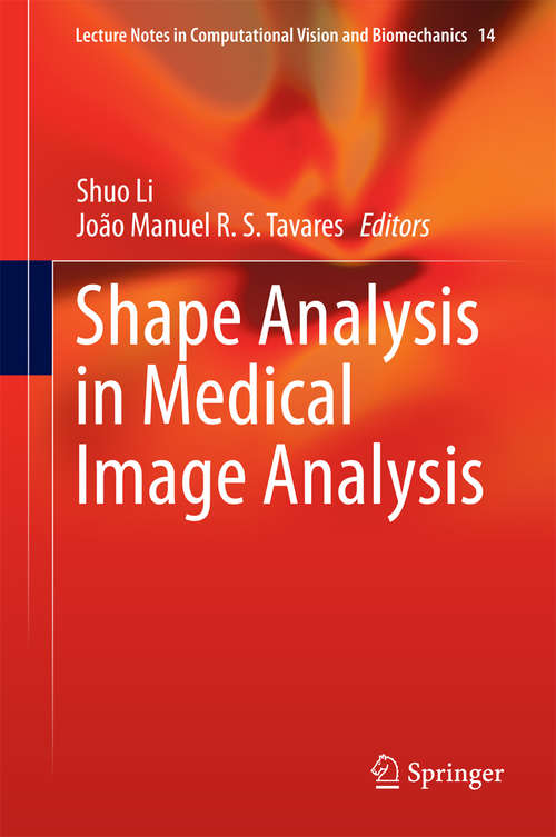 Shape Analysis in Medical Image Analysis