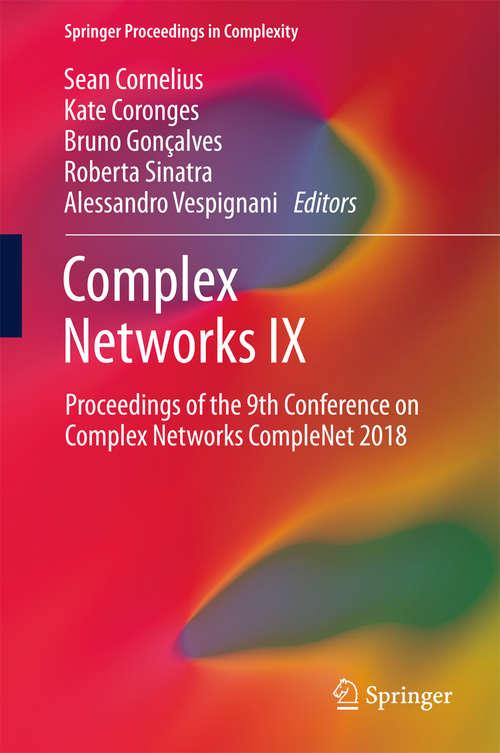 Complex Networks IX