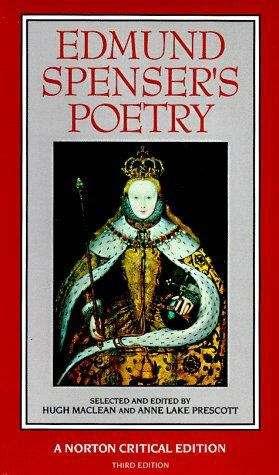 Edmund Spenser's Poetry (A Norton Critical Edition, 3rd edition)
