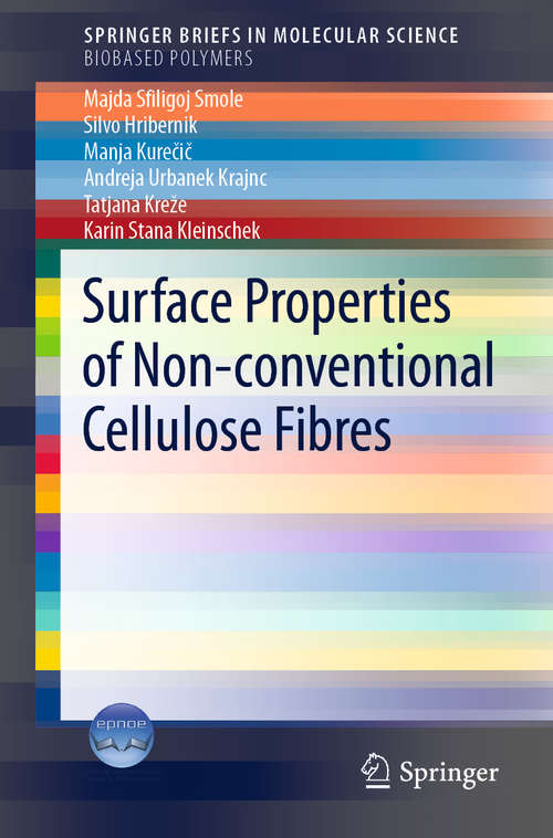Surface Properties of Non-conventional Cellulose Fibres (SpringerBriefs in Molecular Science)