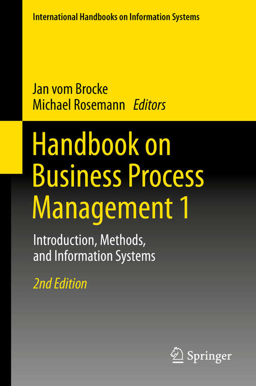 , 2nd Edition: Introduction, Methods, and Information Systems (International Handbooks on Information Systems)