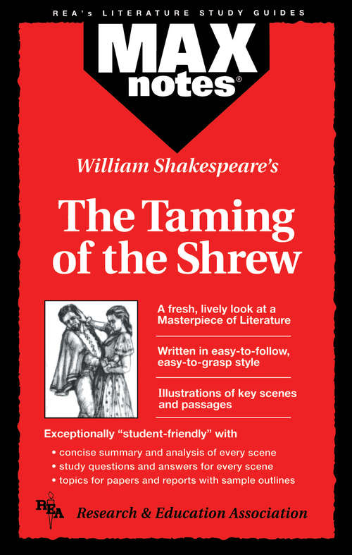 a literary analysis of human life in the taming of the shrew by william shakespeare During these performance intensives, young actors dive head first into shakespeare.