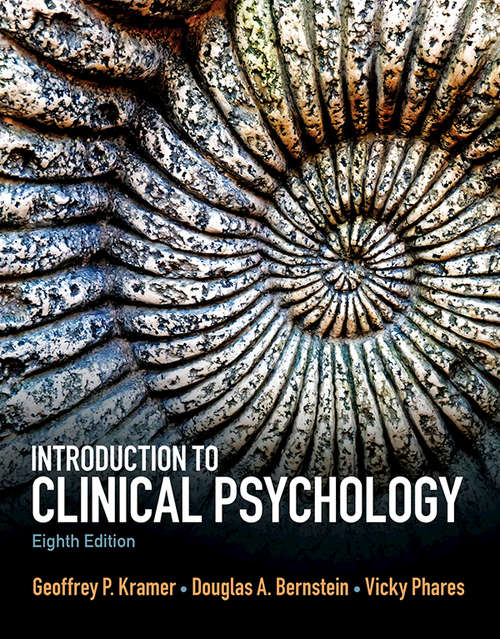 Introduction to Clinical Psychology: International Edition (Mysearchlab Series 15% Off Ser.)
