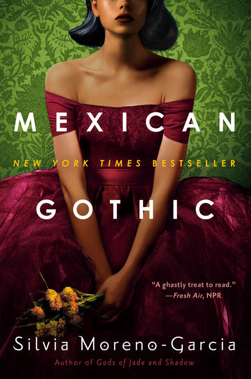 Collection sample book cover Mexican Gothic by Silvia Moreno-Garcia