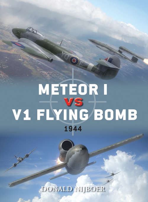Meteor I vs V1 Flying Bomb