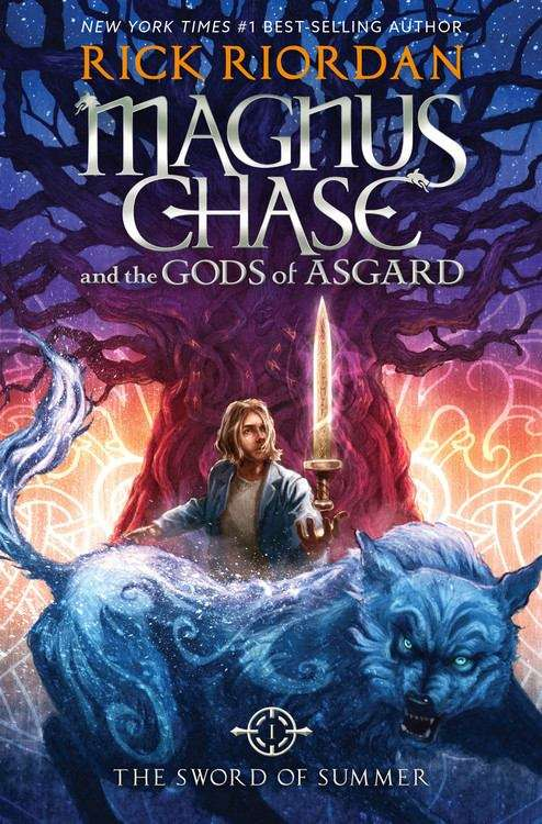 Collection sample book cover The Sword Of Summer (Magnus Chase and the Gods of Asgard #1) by Rick Riordan