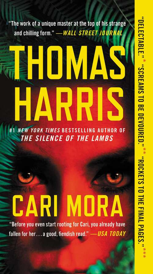 Collection sample book cover Cari Mora by Thomas Harris