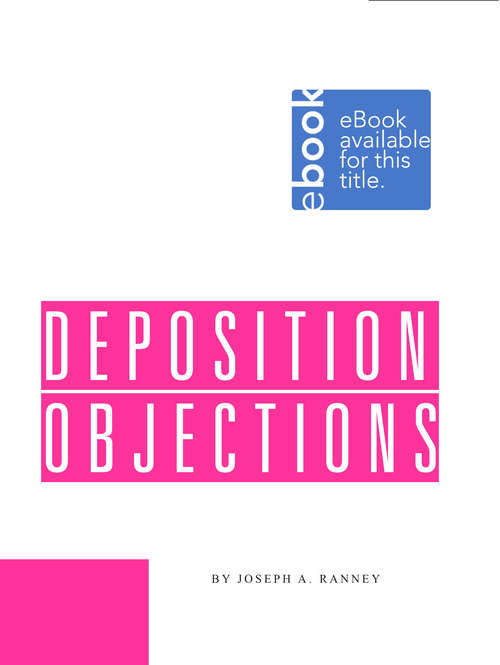 Deposition Objections