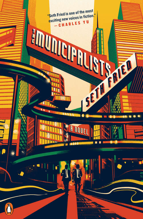 Collection sample book cover The Municipalists by Seth Fried