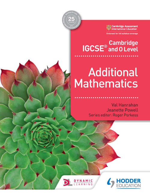 Cambridge IGCSE and O Level Additional Mathematics (PDF