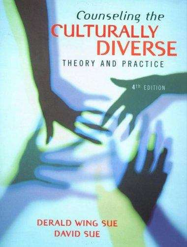 Counseling the Culturally Diverse (4th edition)