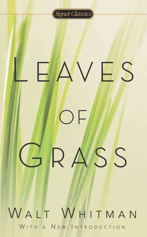 Leaves of Grass: 1st Edition 1855