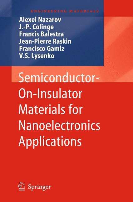 Semiconductor-On-Insulator Materials for Nanoelectronics Applications